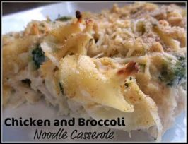 =Chicken and Broccoli Noodle Casserole Recipe