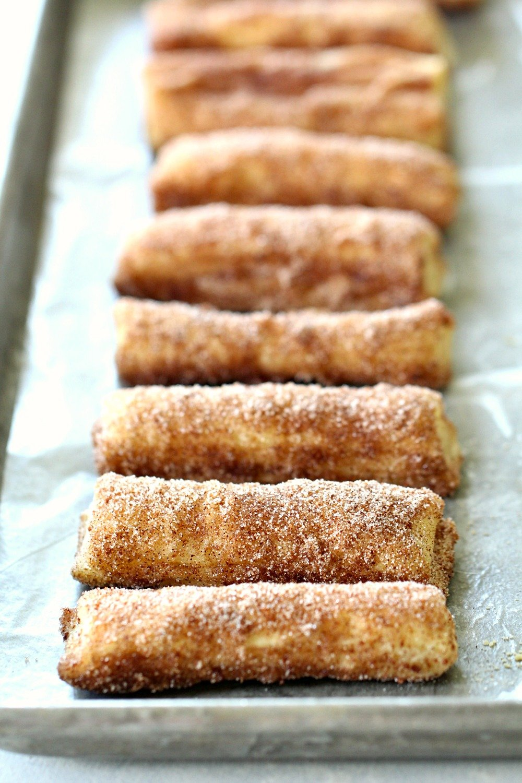 Puff Pastry Baked Churros Recipe ('Cheater Churros')