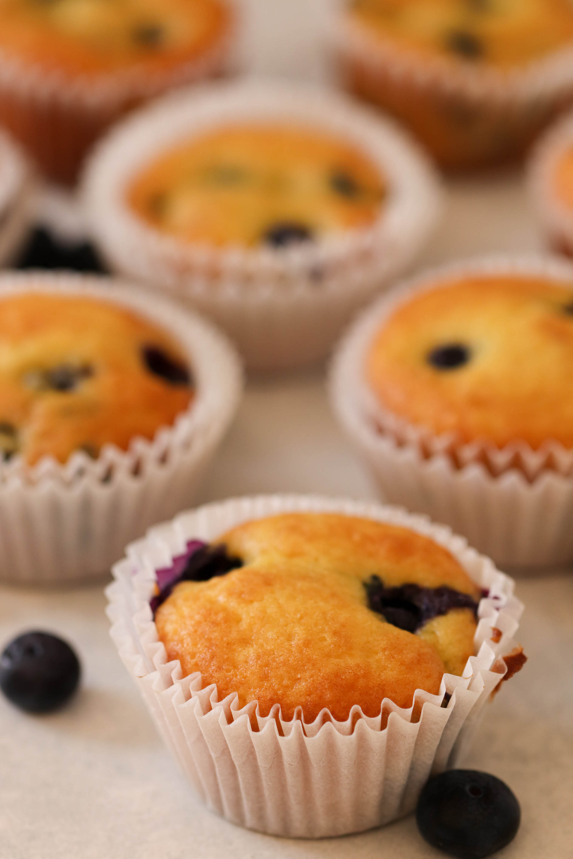 Cake Mix Blueberry Muffins Recipe