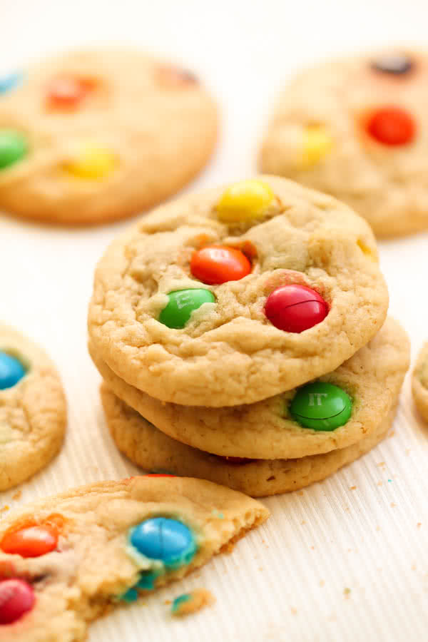 Chewy M & M Cookies