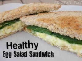 Healthy Meals Monday: Egg White Egg Salad Sandwhich