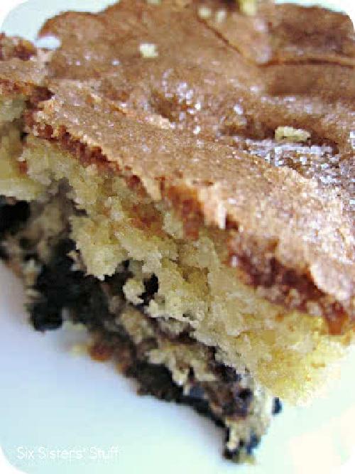 Lemon Blueberry Muffin Cake Recipe