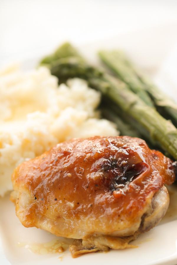Maple Dijon Glazed Chicken Recipe