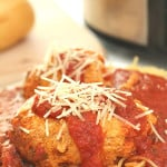 Slow Cooker Chicken Parmesan on SixSistersStuff.com