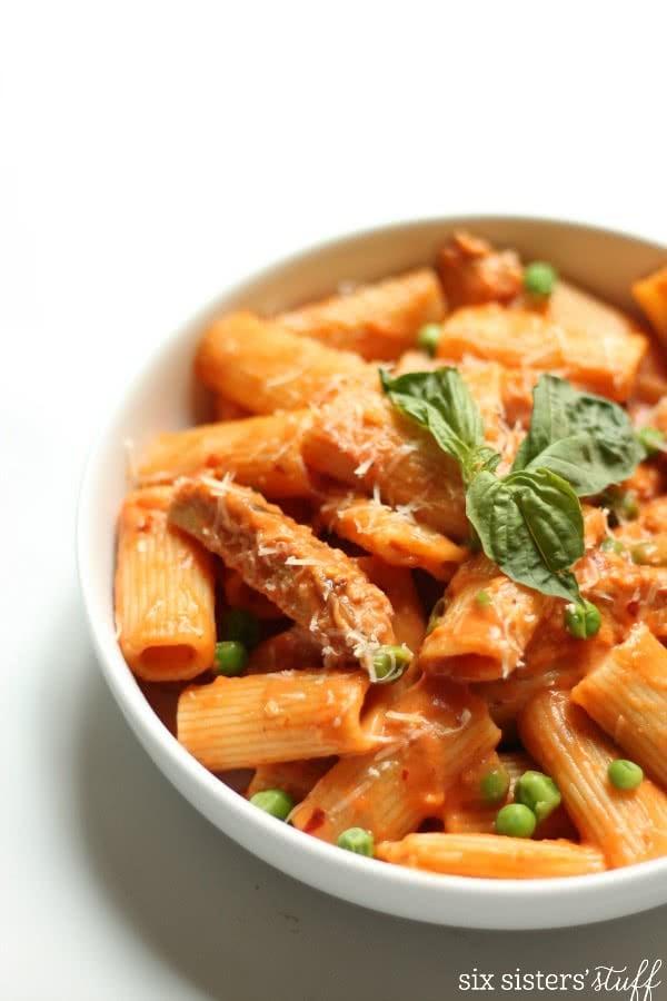 Copycat Bucca Di Beppo Spicy Chicken Rigatoni Recipe