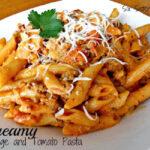 Creamy Sausage and Tomato Pasta