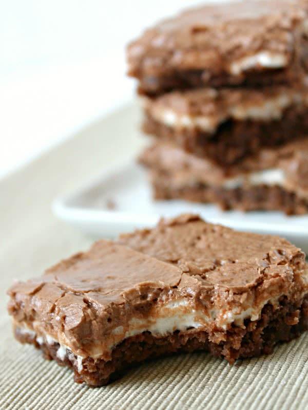 Marshmallow Brownies 3