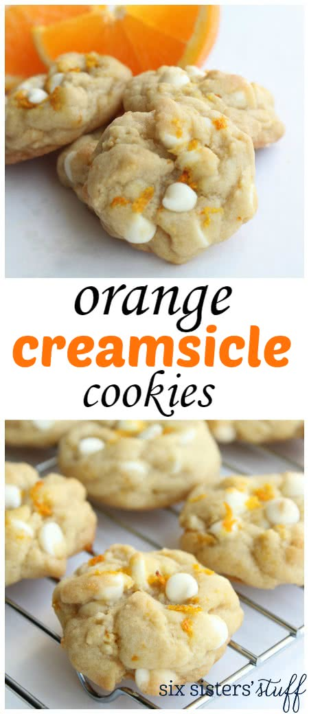 Orange Creamsicle Cookies 3