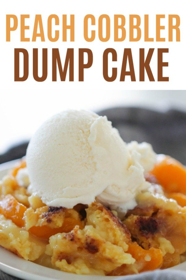 Recipes For Peach Cobbler Dump Cake