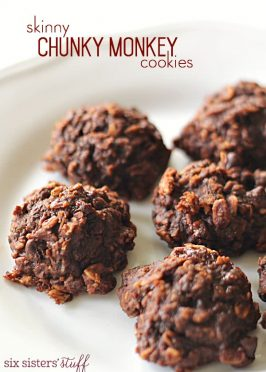 Skinny Chunky Monkey Cookies Recipe