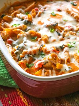 Three Cheese Penne Pasta
