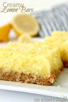 Creamy Lemon Bars Recipe