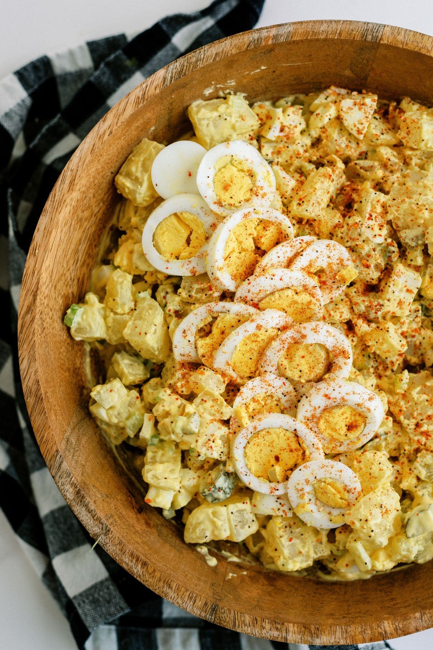 Mom's Easy Potato Salad Recipe