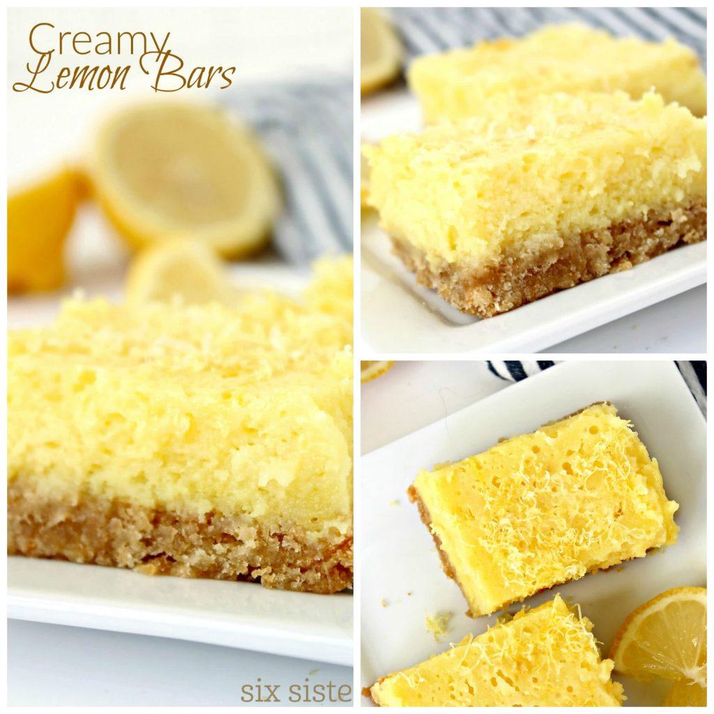 creamy lemon bars 7