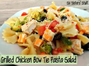 Grilled Chicken Bow Tie Pasta Salad (1)