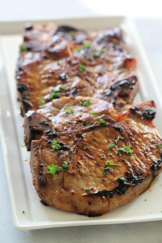 Grilled Tuscan Pork Chops (Easy Marinade) Recipe