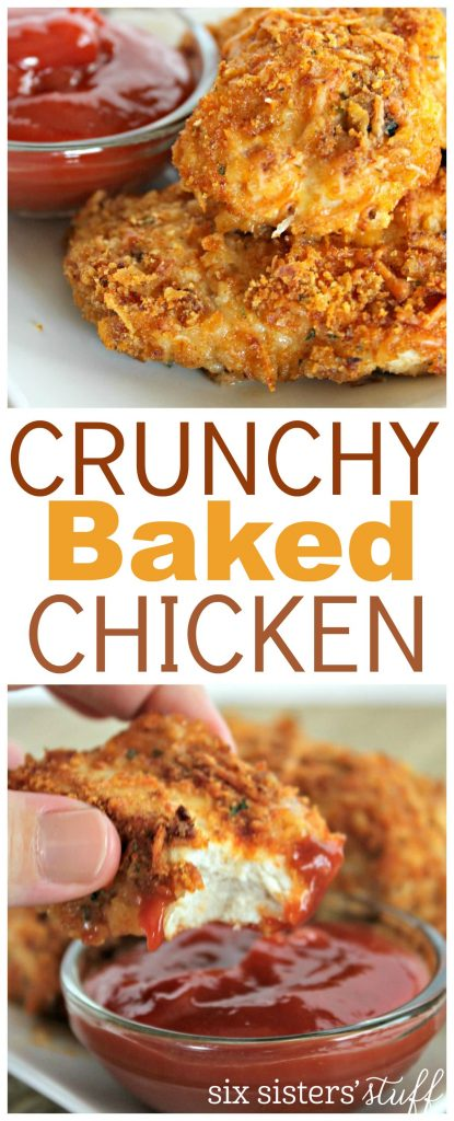 Crunchy Baked Chicken 8