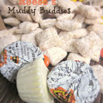 White Chocolate Reese's Muddy Buddies
