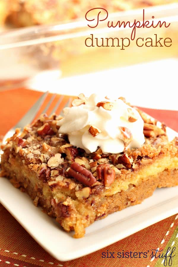 Dump cake recipe dishmaps for Best ever apple cake country living