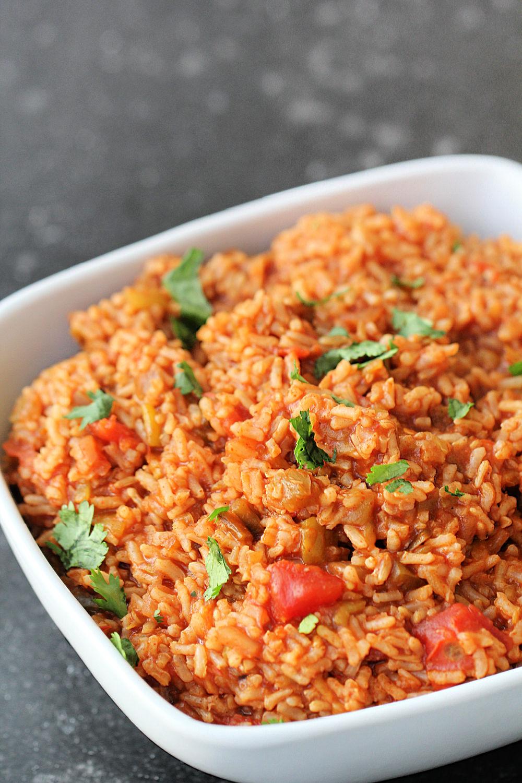 Easy Mexican Salsa Rice (Quick Spanish Rice) Recipe