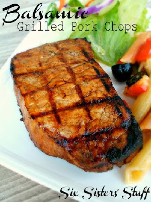 Balsamic Grilled Pork Chops Recipe