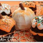 Fall Chocolate Pumpkin Cakes
