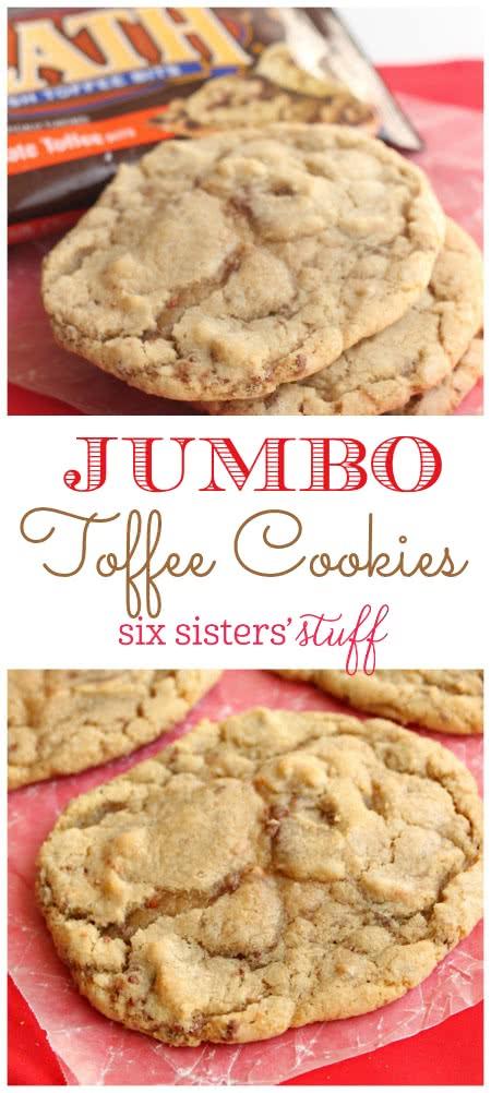 Jumbo Toffee Cookies 3