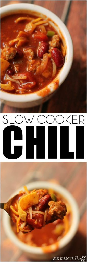 Mom's Slow Cooker Chili