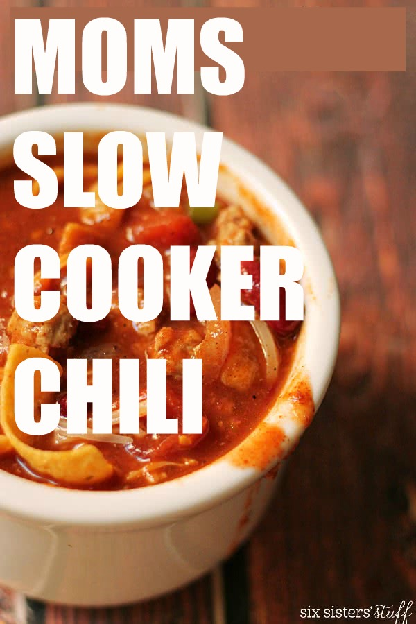 how to cook chili in a crock pot