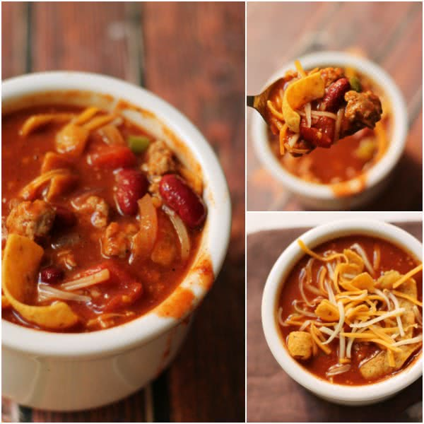 Slow Cooker Chili Six Sisters
