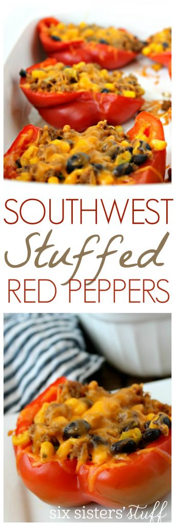 Healthy Meals Monday Healthy Southwest Stuffed Red