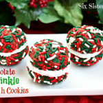 Chocolate Sprinkle Sandwich Cookies (1)