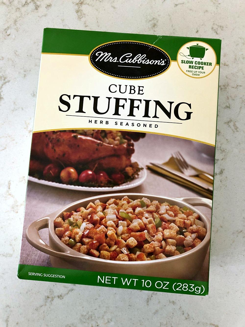 Mrs. Cubbison's Cube Stuffing Box - 10 ounces