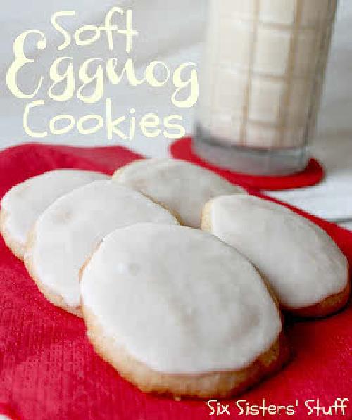 Soft Eggnog Cookies Recipe