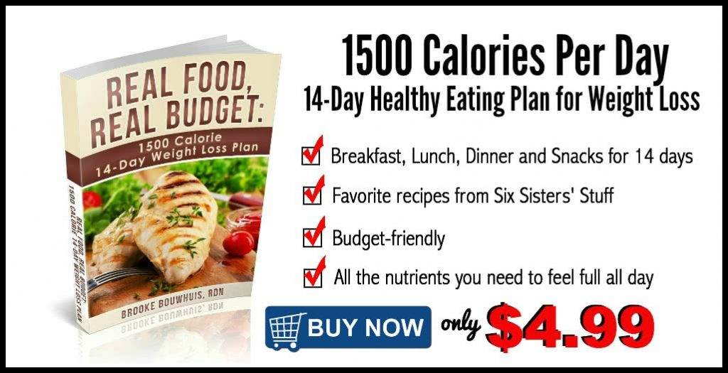 1500 calorie ebook six sisters strong