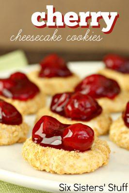 Cherry Cheesecake Cookies Recipe