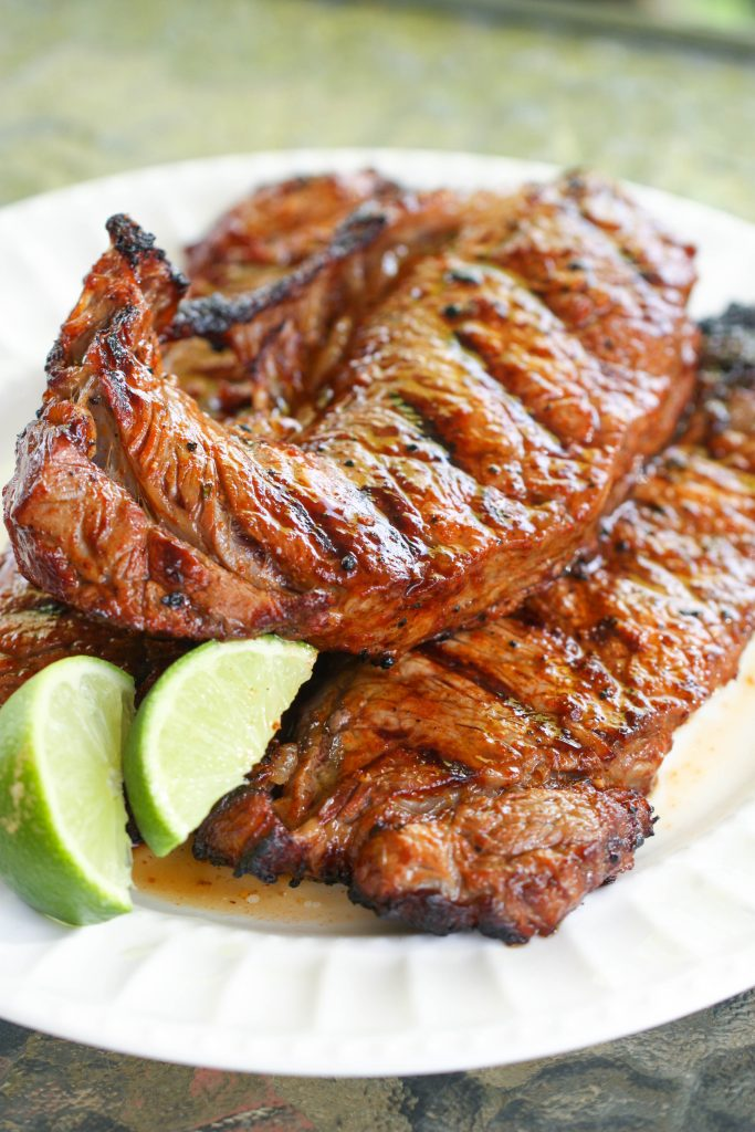 Chili Lime Rubbed Steak Recipe | Six