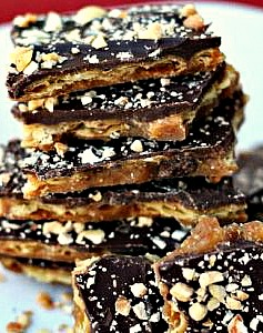 Saltine Cracker English Toffee Recipe