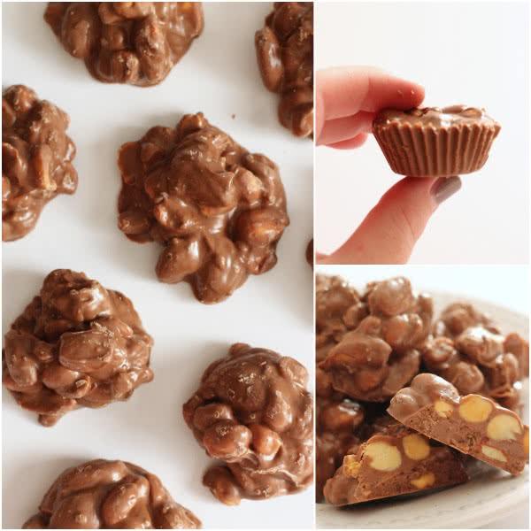 Facebook nut cluster collage
