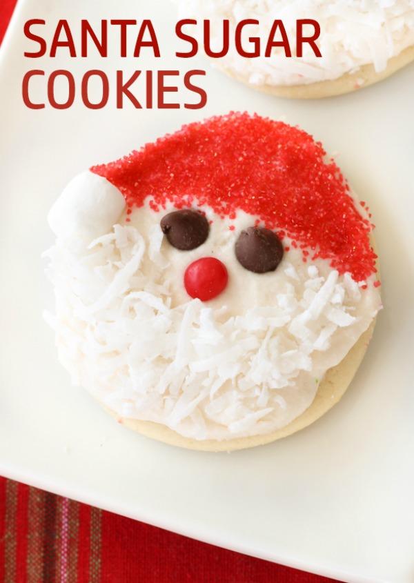 Santa Sugar Cookies Six Sisters Stuff