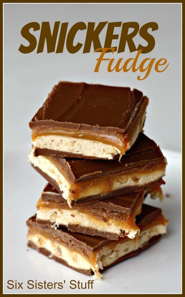 snickers fudge six sisters stuff