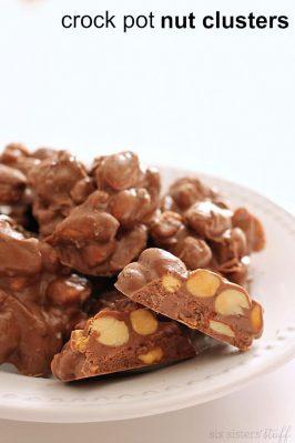 Crock Pot Nut Clusters