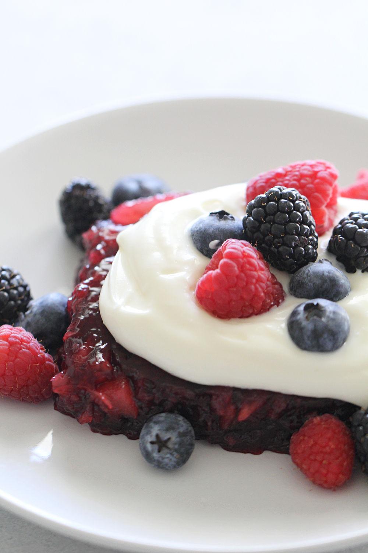 Berries and Cream Jello Salad Recipe