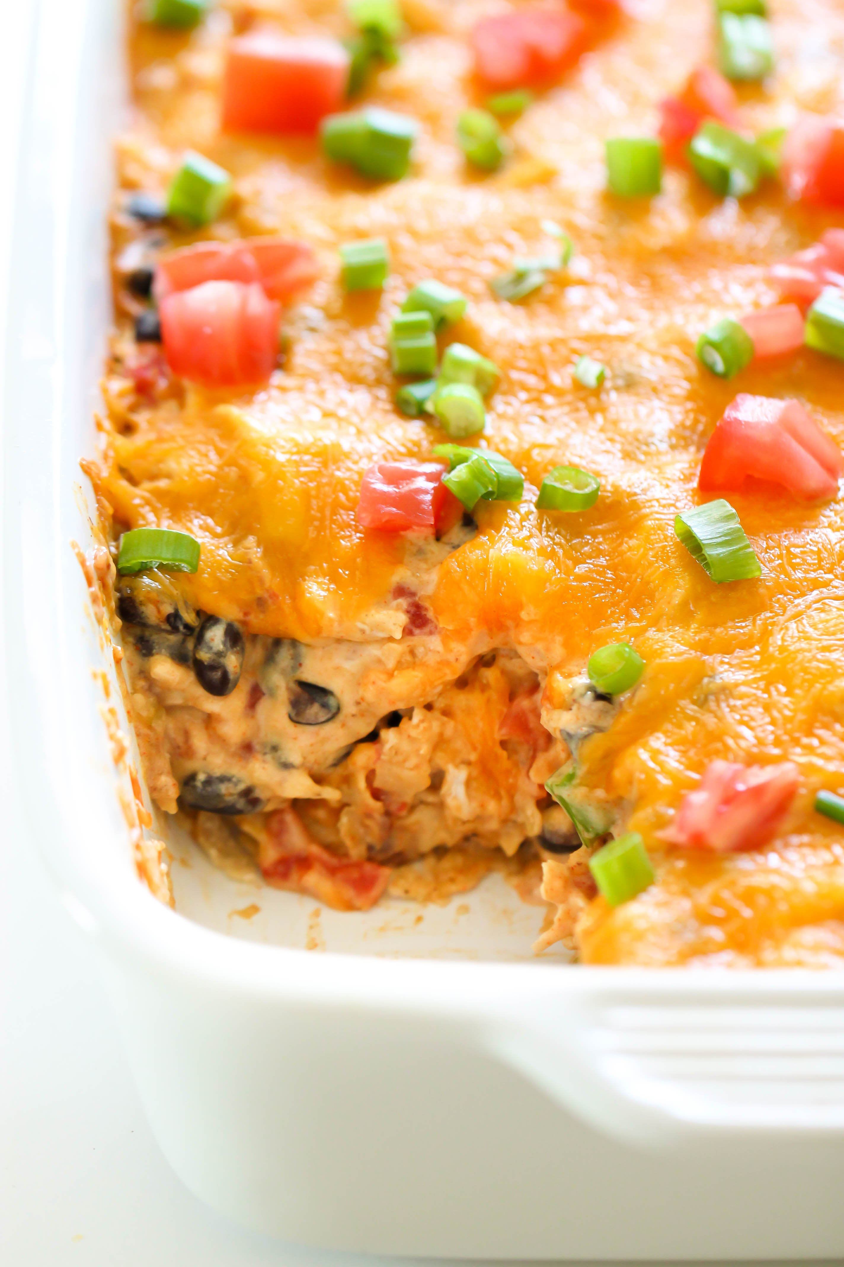 Chicken Taco Casserole Recipe