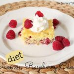 Diet Lemon Raspberry Cake