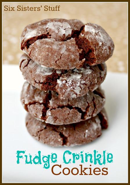 Fudge Crinkle Cookies Recipe
