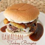 Hawaiian Turkey Burgers