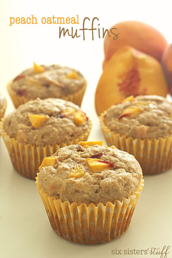 Peach-Oatmeal-Muffins-on-SixSistersStuff.com_