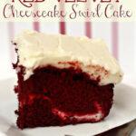 Red Velvet Cheesecake Swirl Cake