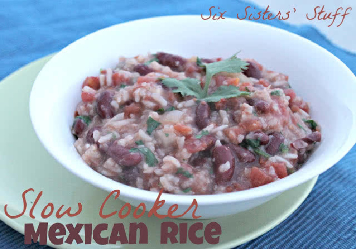 Slow Cooker Mexican Rice Recipe